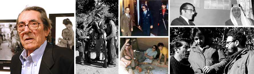 Enrique Meneses con los futuros dueños de Cuba, foto de la derecha, debajo.
