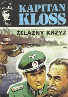 Cover of Kapitan Kloss #14 (comic series). Art by Mieczysław Wiśniewski [wikipedia.org]