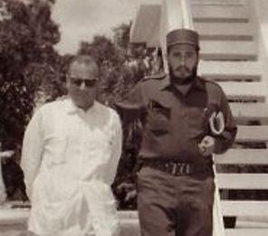 Miguel Angel Quevedo con el dueño de todo, en la Cuba post '59 [¿Hasta el 2015?]